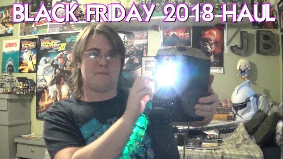 BLACK FRIDAY (2018) HAUL! PickUp Vlogs