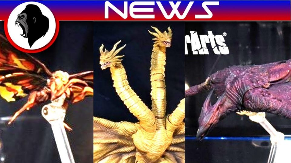 RODAN, MOTHRA, GHIDORAH DESIGNS REVEALED! + Trailer Confirmed | Godzilla: King of the Monsters