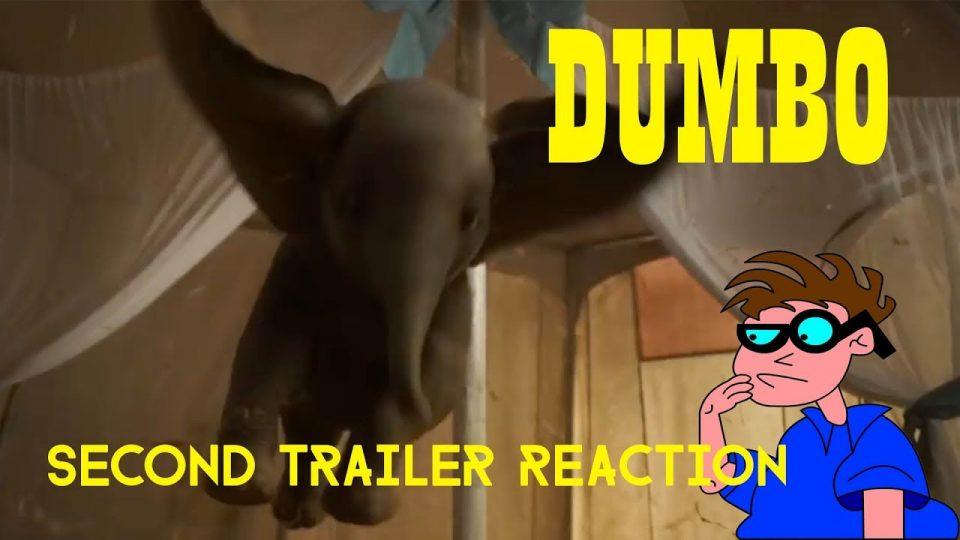 DUMBO - Second Trailer Reaction Video.