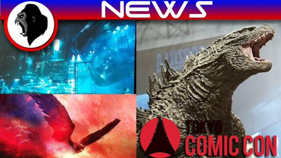 Godzilla 2 - EVERYTHING We Learned From Tokyo Comic Con | Godzilla: King of the Monsters