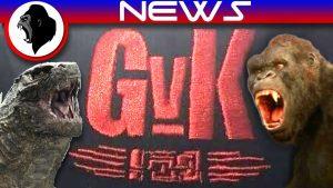 Godzilla VS Kong LOGO Revealed!   KPF KAIJU NETWORK
