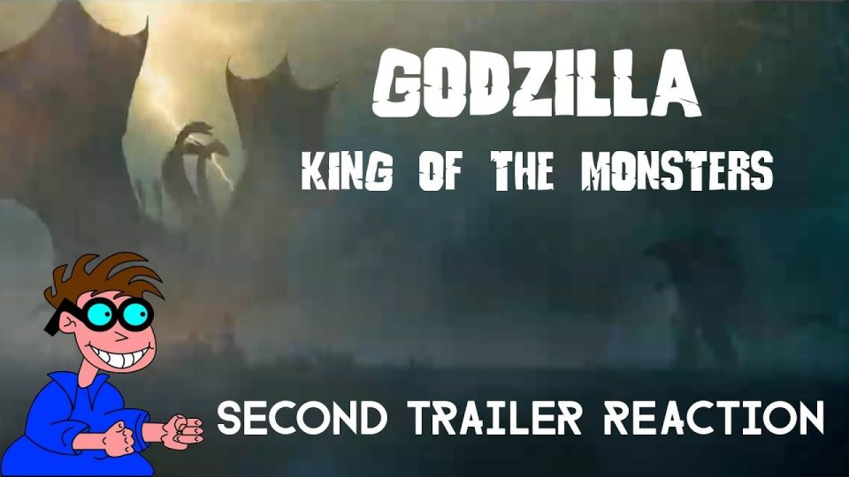 GODZILLA: KING OF THE MONSTERS - Second Trailer Reaction Video.