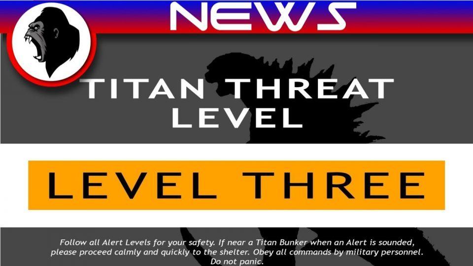 GvK - TITAN Threat Levels Introduced | Godzilla vs Kong