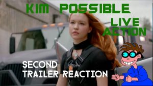 KIM POSSIBLE (LIVE-ACTION TV MOVIE) – Second Trailer Reaction – MATTHEW LAMONT