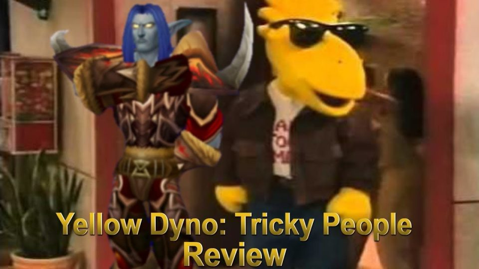 Media Hunter - Yellow Dyno: Tricky People Review
