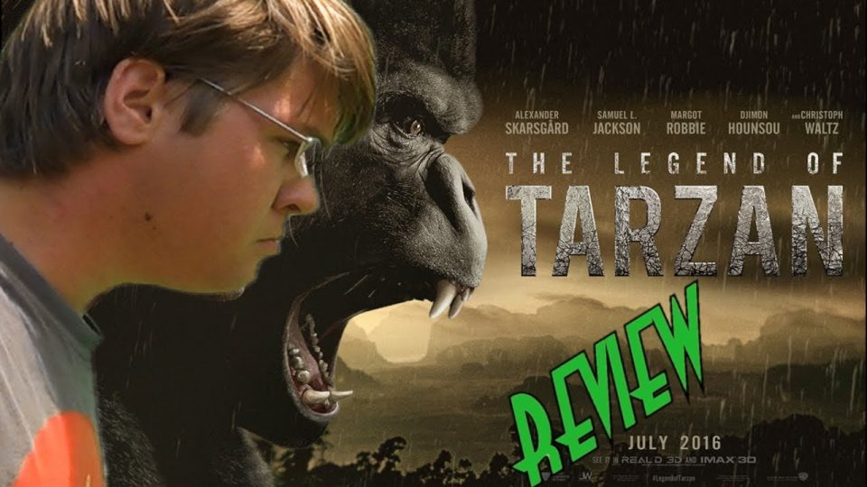 The Legend Of Tarzan (2016) BIGJACKFILMS REVIEW (RE-UPLOAD)