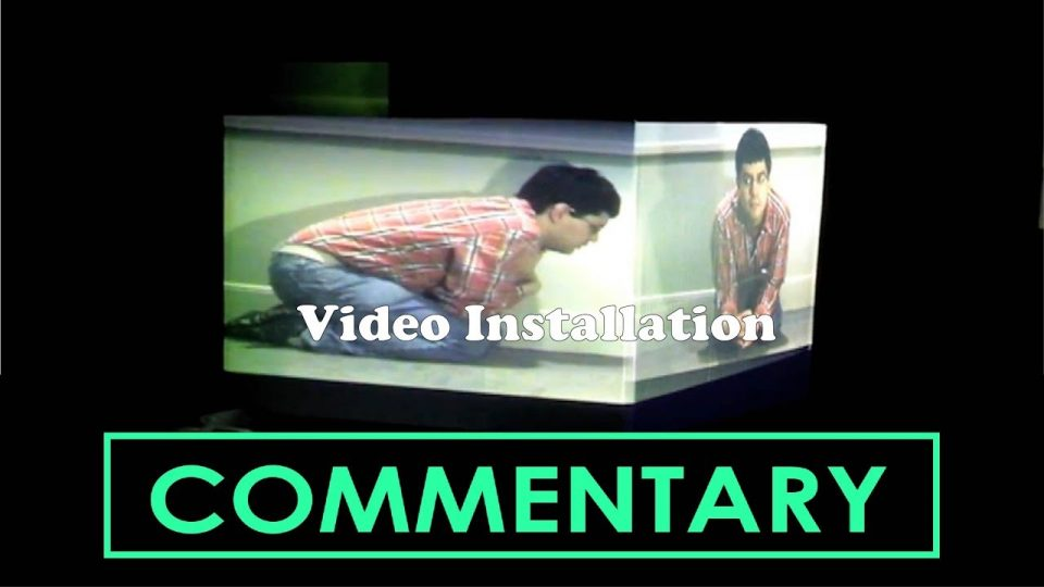 VIDEO INSTALLATION (2012) - Commentary.