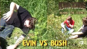12. EVIN VS BUSH! King Kong (2016) Fan Film – BEHIND THE SCENES