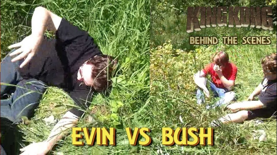 12. EVIN VS BUSH! King Kong (2016) Fan Film - BEHIND THE SCENES