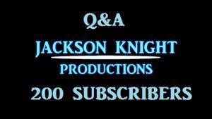 200 Subscribers Q&A – NICK JACKSON