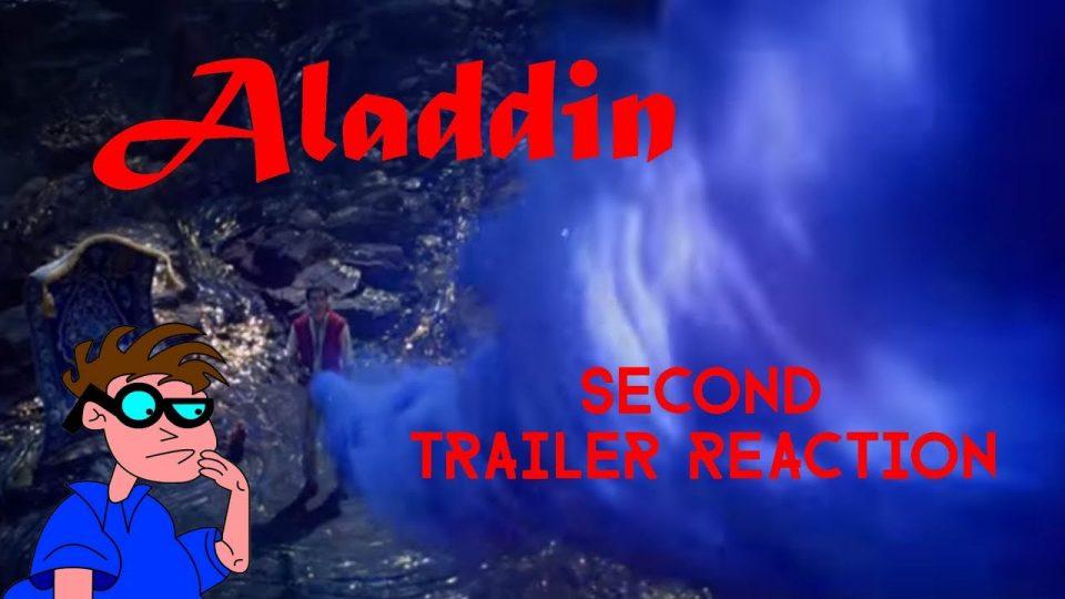 ALADDIN (Live-Action Version) Second Trailer Reaction Video.