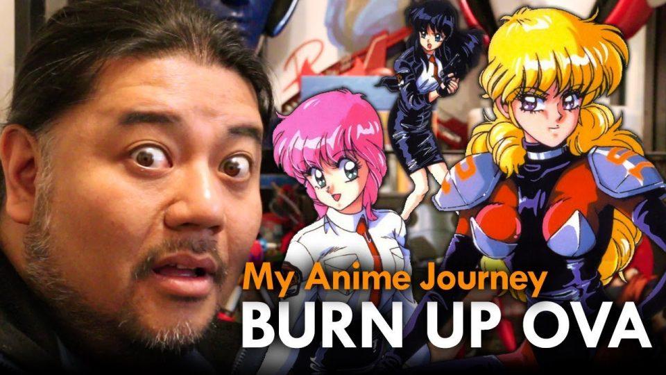 Burn Up OVA Anime Review - Mega Jay Retro
