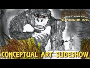 King Kong (2016) Fan Film – CONCEPT ART SLIDESHOW (#MarchOfKong)