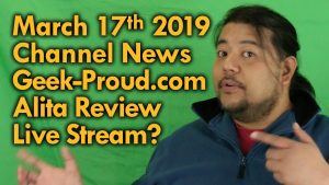 March 17 2019 Channel News – Mega Jay Retro