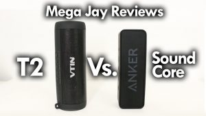 Anker SoundCore Bluetooth Speaker Vs. T2 Waterproof BlueTooth Speaker – MEGA JAY RETRO REVIEW