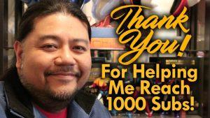 Thank You 1000 Subscribers! MEGA JAY RETRO