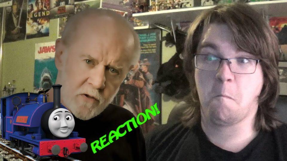 GEORGE CARLIN & SIR HANDAL ROAST SODOR! Reaction!