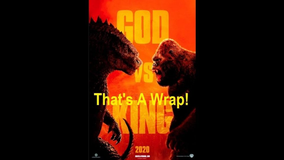 Godzilla Vs Kong Wraps Production