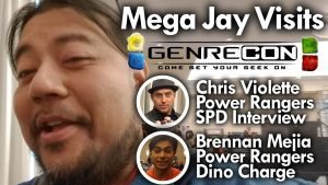 GenreCon 2019 (Ft. Power Rangers Chris Violette & Brennan Mejia) MEGA JAY RETRO
