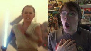 STAR WARS EPISODE IX! Trailer Reaction!