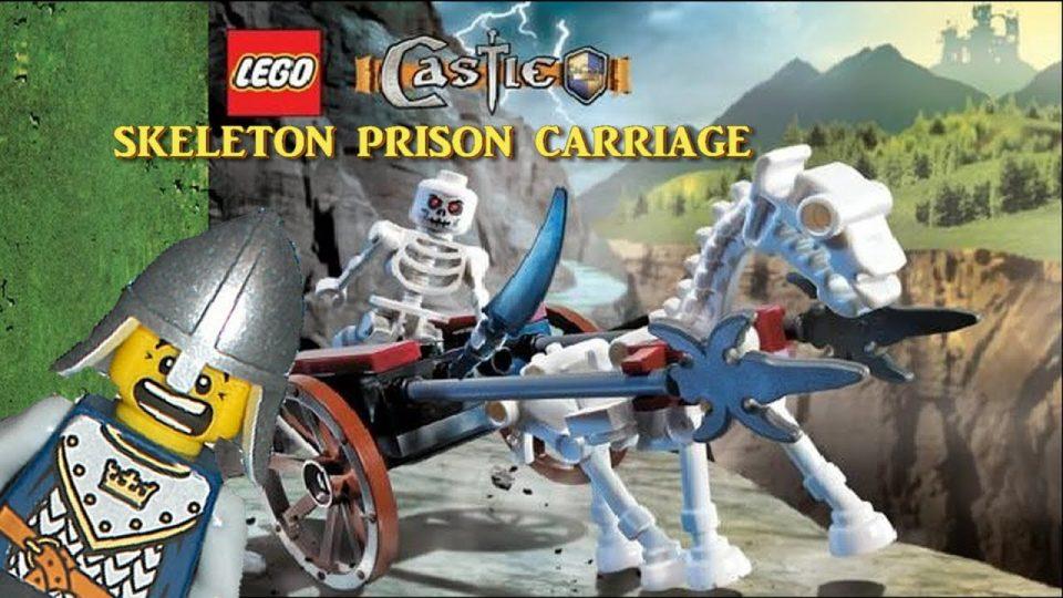 LEGO Castle - Chapter IV: Skeleton Prison Carriage
