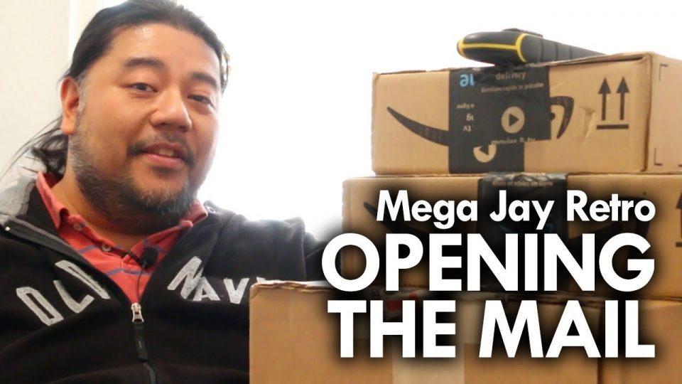 Mega Jay Retro - Opening My Mail - April 2019 #megajayretro #unboxing #mail #MOTU #Zelda #MMPR