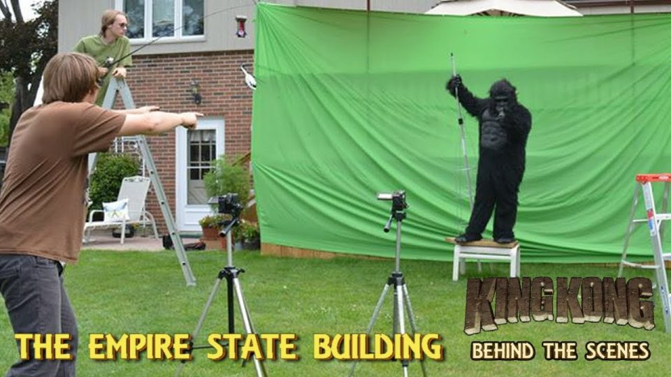 28. THE EMPIRE STATE BUILDING - King Kong (2016) Fan Film - BEHIND THE SCENES