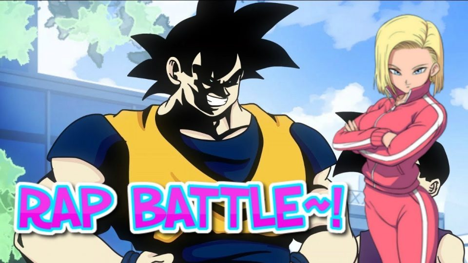 Android 18 reacts to Goku vs. All Might RAP BATTLE!!