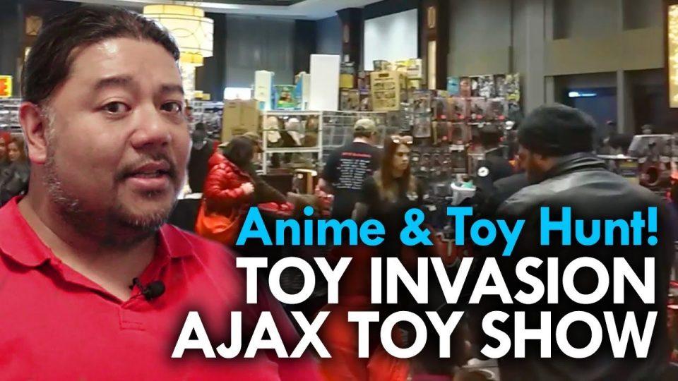 The Ajax Toy Show - Mega Jay Retro Reviews #vintagetoys #collectables #MOTU #anime #animedvds
