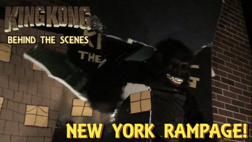 29. NEW YORK RAMPAGE! King Kong (2016) Fan Film - BEHIND THE SCENES