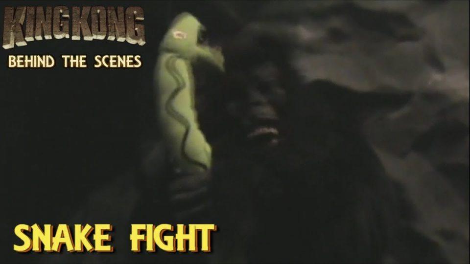 31. SNAKE FIGHT - King Kong (2016) Fan Film - BEHIND THE SCENES