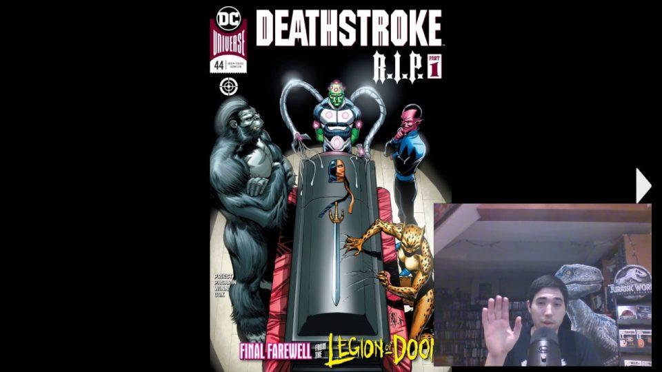 Deathstroke (2016-) #44 Review