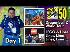 San Diego Comic Con (2019) Day 1 – Mega Jay Retro