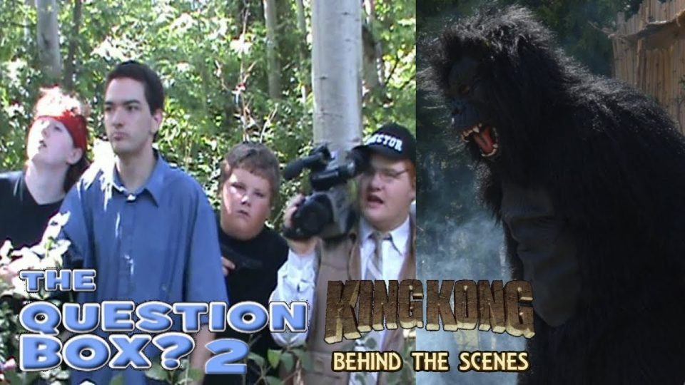 33. THE QUESTION BOX 2 - King Kong (2016) Fan Film - BEHIND THE SCENES