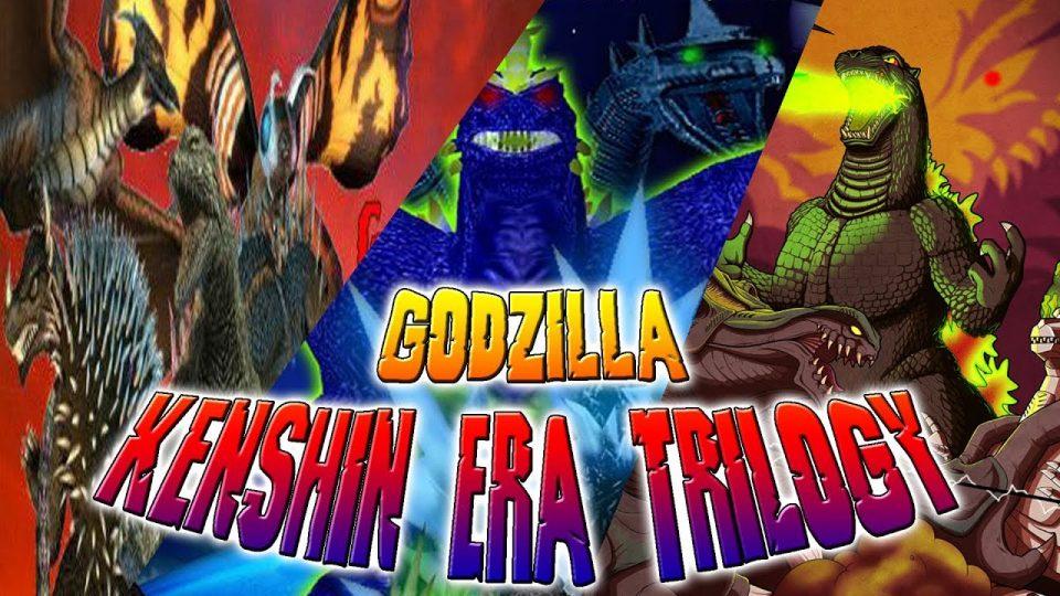 Godzilla Kenshin Fan Trilogy | All Monster Battle Scenes |