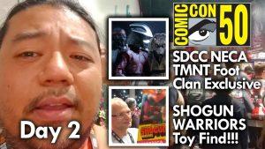San Diego Comic Con Day 2 (2019) MegaJayRetro