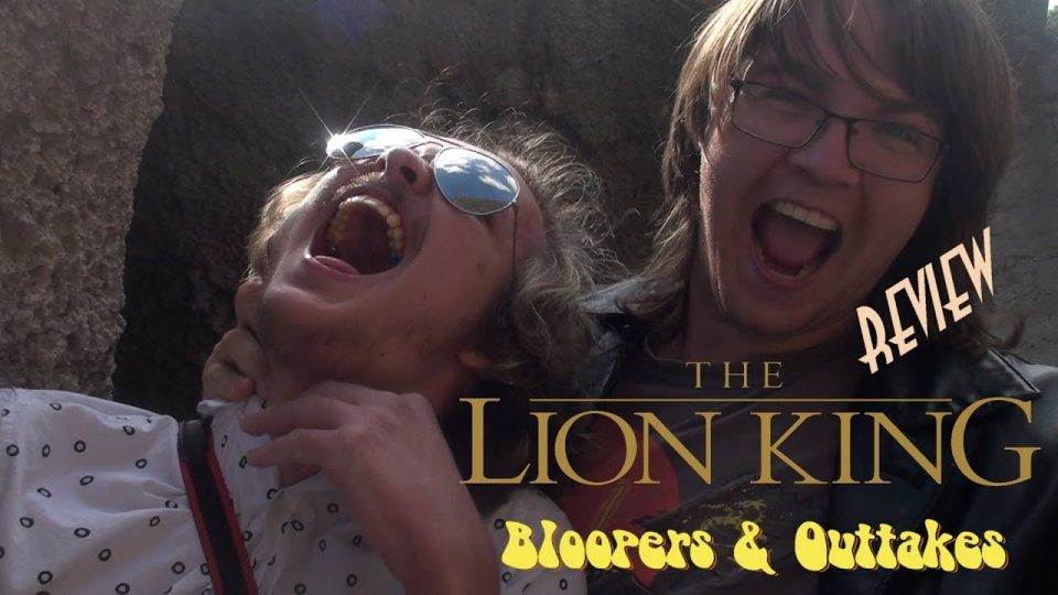 The Lion King Review - BLOOPERS & OUTTAKES