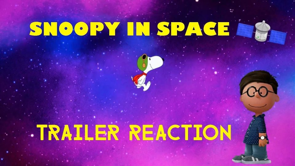 SNOOPY IN SPACE - Trailer Reaction Video.