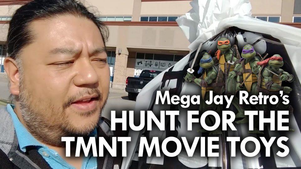 NECA 1990 TMNT Movie Figures Quest - Mega Jay Retro Toy Hunting #ebgamescanada #tmntmovie