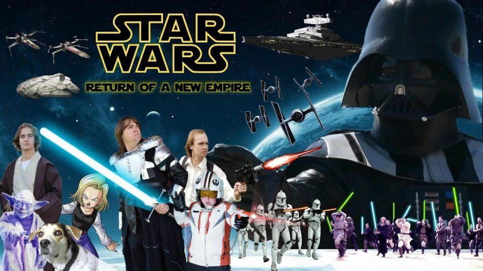RETURN OF A NEW EMPIRE  - A Star Wars Fan Film/Review - BIGJACKFILMS