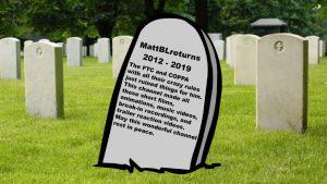 My Goodbye from YouTube – MATTHEW LAMONT