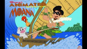 Hewy's Animated Movie Reviews #78 Moana