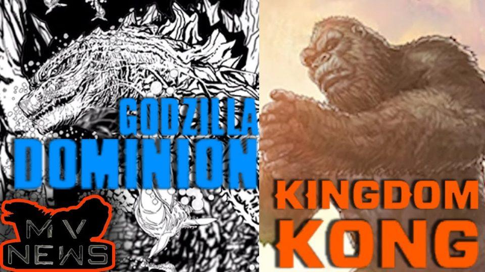 Godzilla vs Kong Comics - Titles, Plots, Release Dates REVEALED | MonsterVerse News