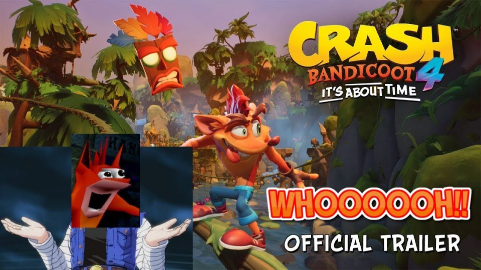 Alexis reacts to Crash Bandicoot 4: It's About Time | PS4