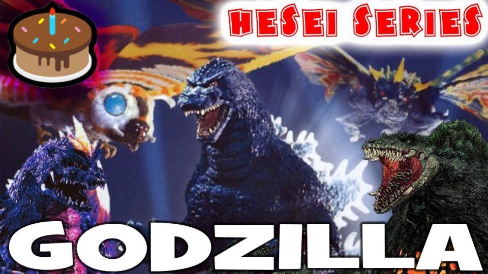 Heisei Godzilla Era - Pros and Cons = CAKE EVERY NIGHT (Live!)