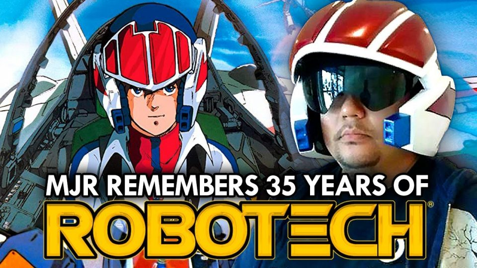 Remembering 35 Years of Robotech - Mega Jay Retro