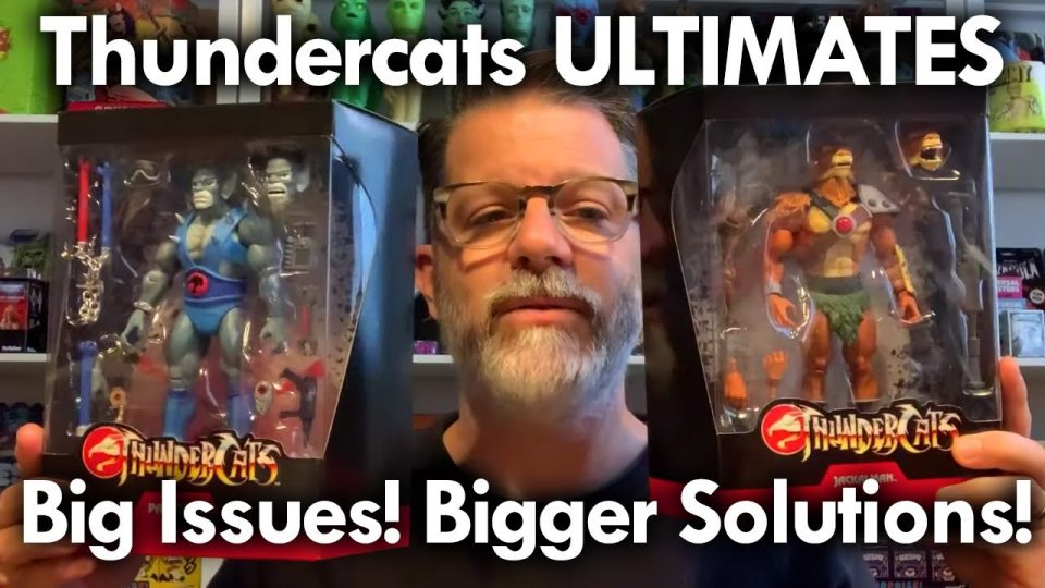 Thundercats ULTIMATES Update More Paint Deco Problems! But Super 7 has FANS covered! Update Aug 2020