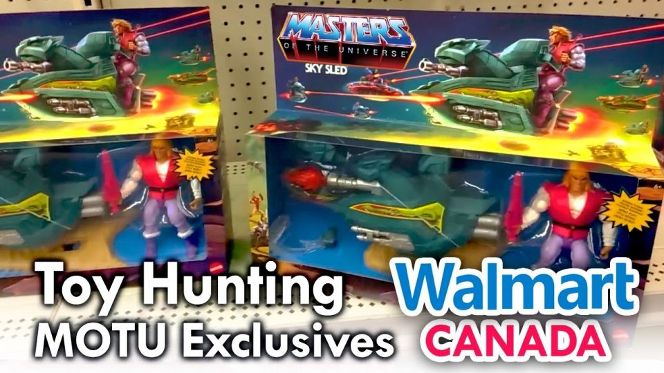 Walmart Canada MOTU Origins Prince Adam Sky Sled - Toy Hunting with mega Jay Retro