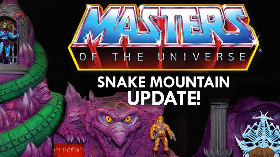 Snake Mountain Masters of the Universe Playset Super 7 Update Aug 2020
