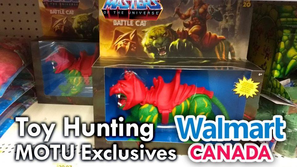 Walmart Canada MOTU Origins Battle Cat - Toy Hunting with mega Jay Retro